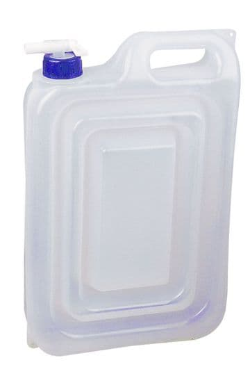 2 x 13 Litre COLLAPSBLE FOLDING WATER CARRIERS FOOD SAFE CONTAINERS camping